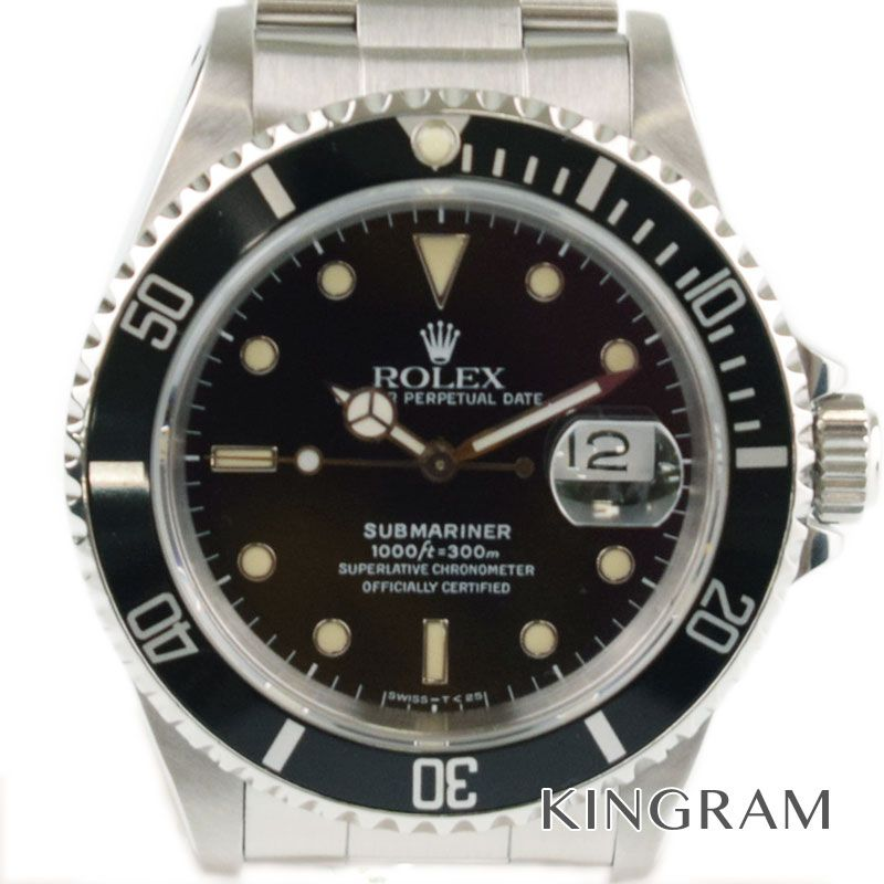 ロレックス ROLEX サブマリーナ Ref.16610 OH・外装仕上げ済 メンズ 腕時計 km 【中古】
