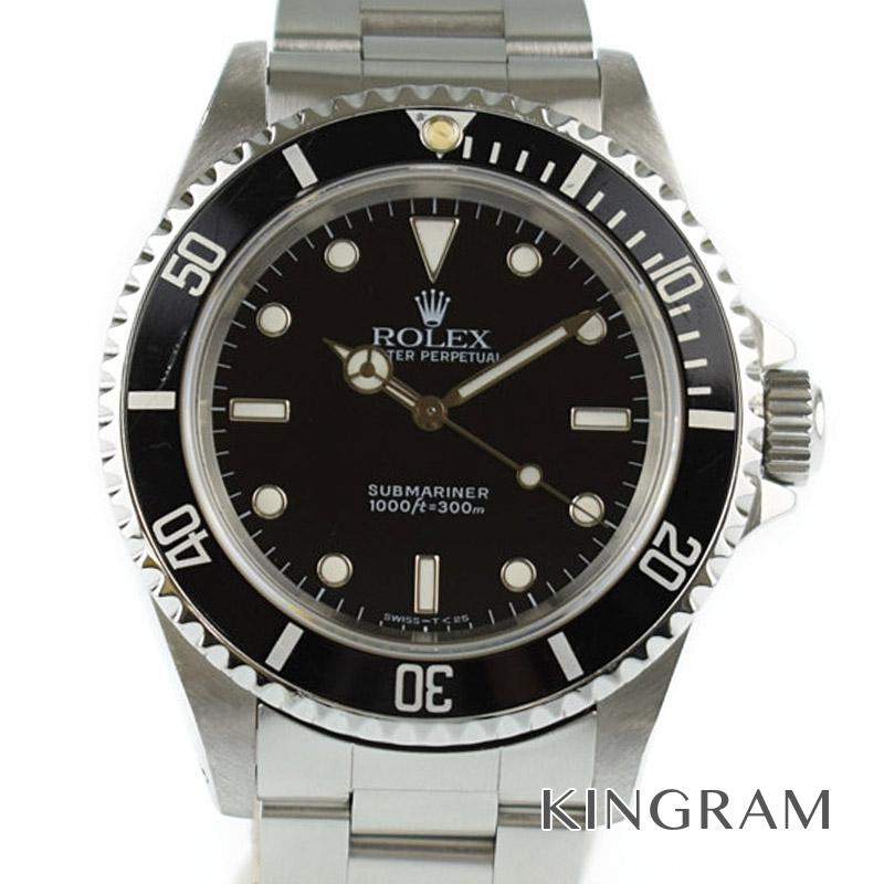 ロレックス ROLEX サブマリーナノンデイト Ref.14060 S番 自動巻き メンズ 腕時計 ki 【中古】