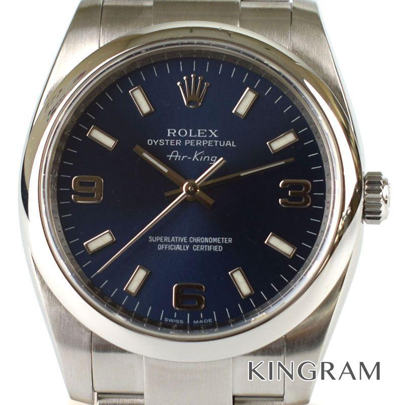 ロレックス ROLEX エアキング Ref.114200 自動巻 メンズ 腕時計 te 【中古】