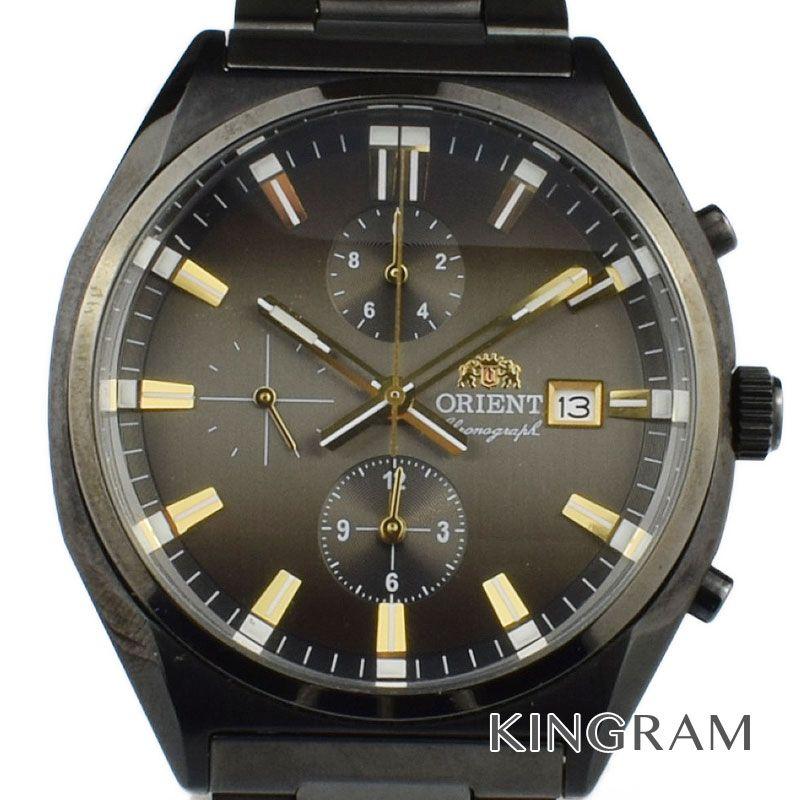 オリエント ORIENT クロノグラフ Ref.TT10-D0-B CA クォーツ メンズ 腕時計 se 【中古】