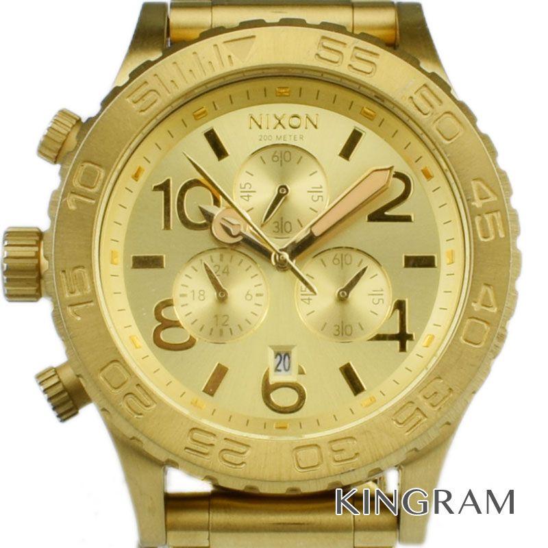 ニクソン NIXON フォーティトゥートゥエンティクロノ Ref.THE 42-20 クォーツ メンズ 腕時計 se【中古】