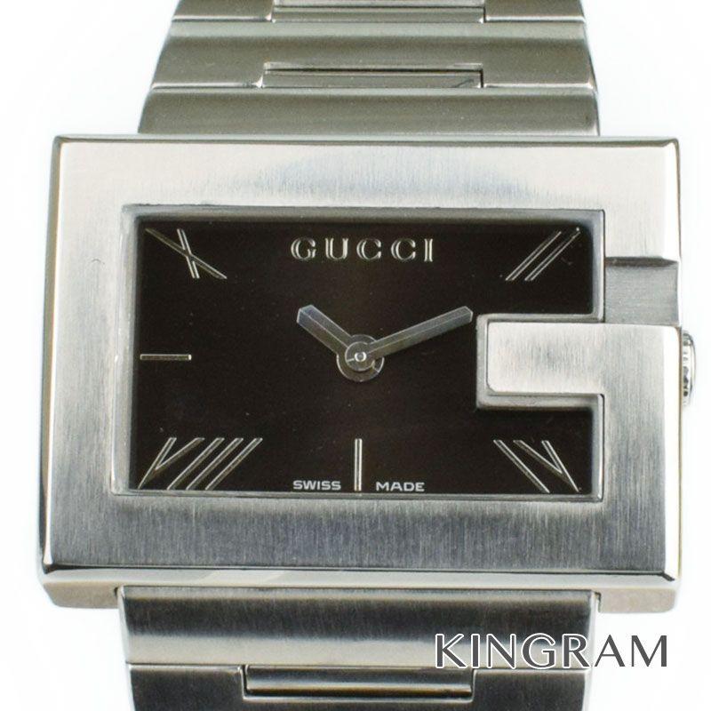 グッチ GUCCI Gレクタングル Ref.100L クォーツ レディース 腕時計 hi【中古】