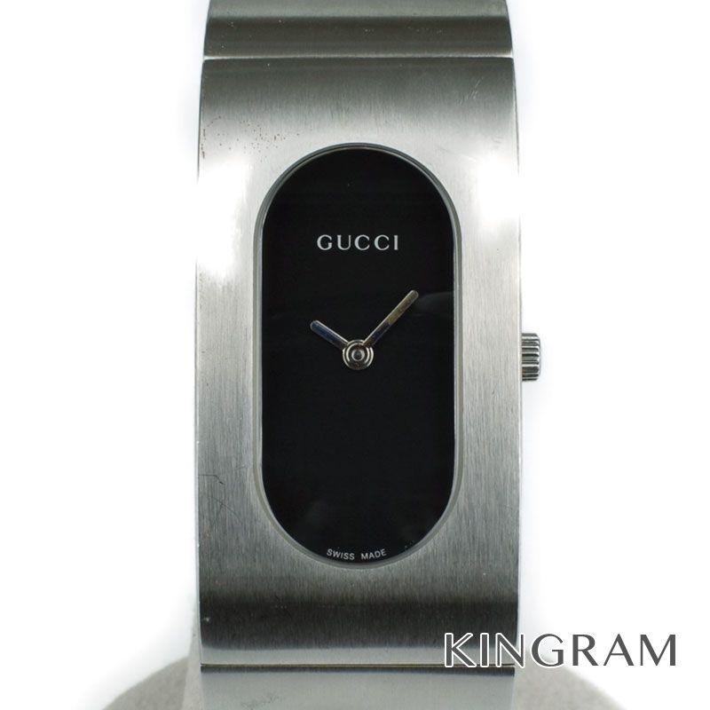 グッチ GUCCI Ref.2400L バングルウォッチ クォーツ レディース 腕時計 fc 【中古】