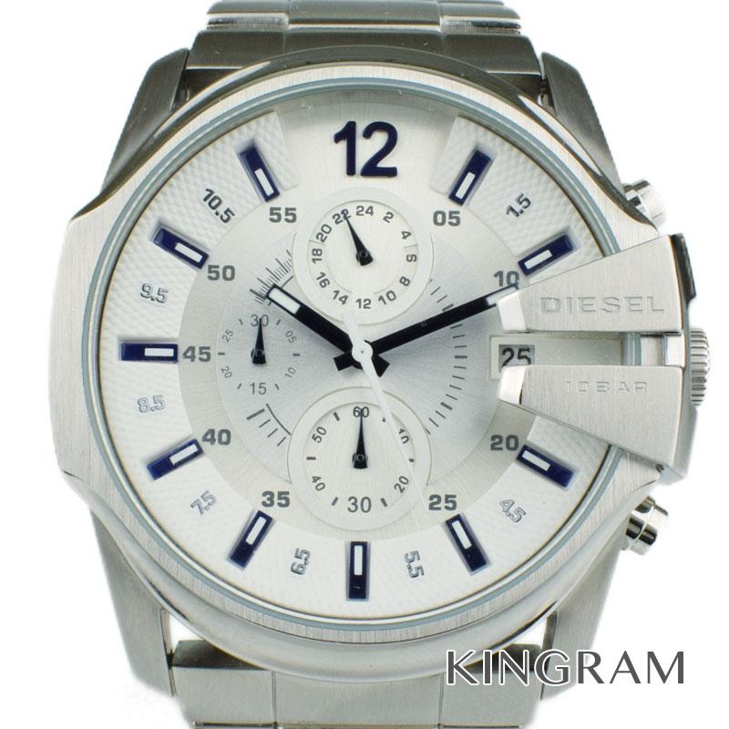 ディーゼル DIESEL マスターチーフ Ref.DZ-4181 クォーツ メンズ 腕時計 hi【中古】