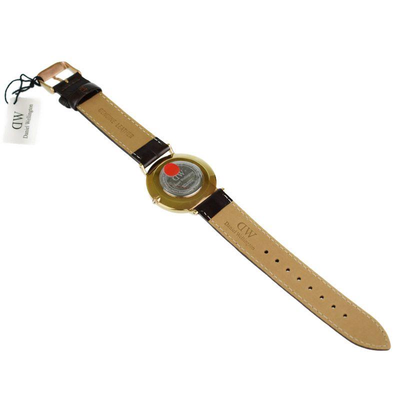 9ed596a8f785 ダニエルウェリントン DanielWellington ヨーク アウトレット ユニセックス Ref.0510DW クォーツ 男女兼用腕時計 ka 【中古 】-男女兼用腕時計