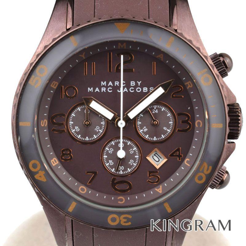 マークバイマークジェイコブス MARC BY MARC JACOBS Ref.MBM3122 クロノグラフ クォーツ レディース 腕時計 du 【中古】