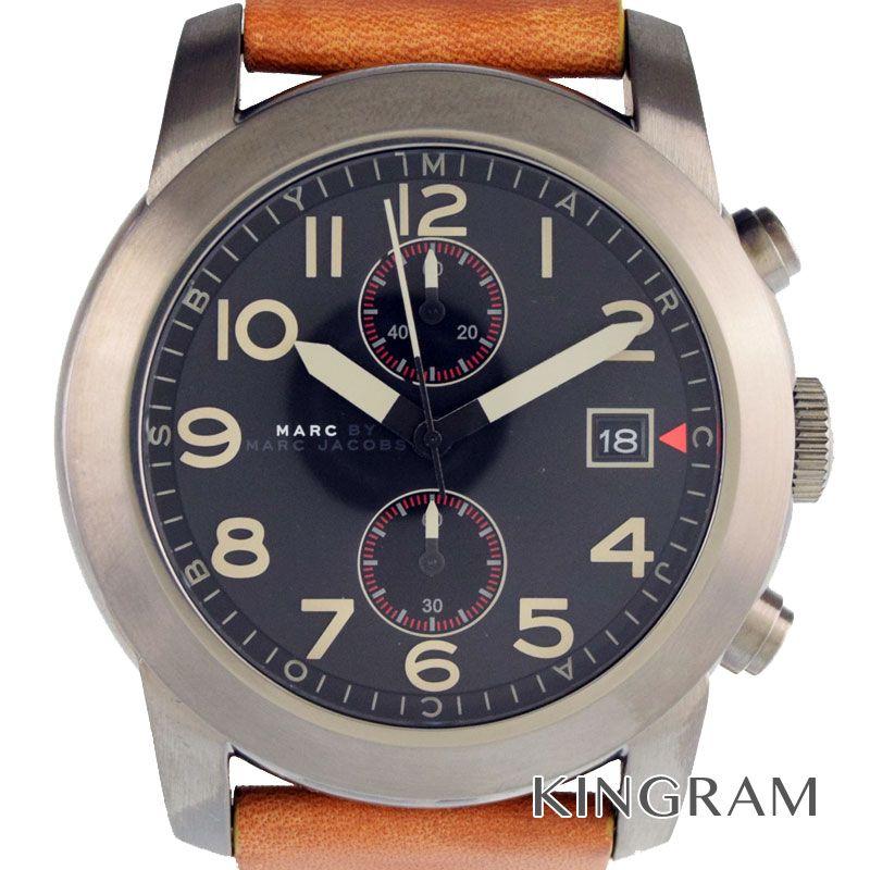 マークバイマークジェイコブス MARC BY MARC JACOBS ラリー Ref.MBM5082 クォーツ メンズ 腕時計 gi【中古】