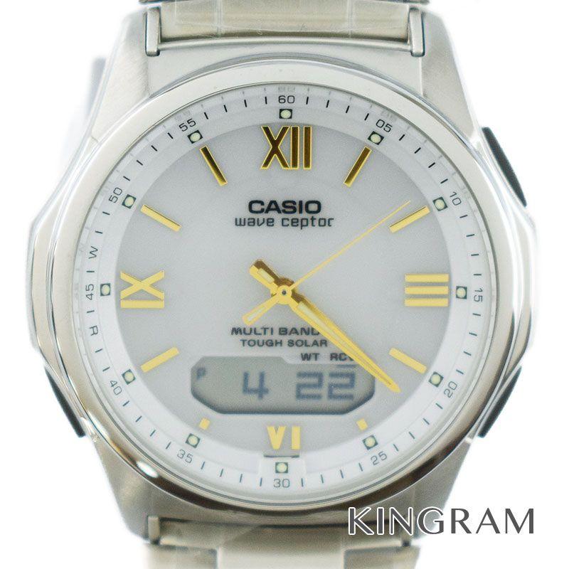 カシオ CASIO Ref.WVA-M630 マルチバンド6 電波ソーラークォーツ メンズ 腕時計 ko 【中古】