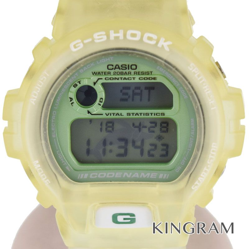 【最大3万円オフクーポン配布中!】カシオ CASIO G-SHOCKジーショック Ref.DW-6910K-3T イルクジモデル BL不良 クォーツ メンズ 腕時計 gi 【中古】