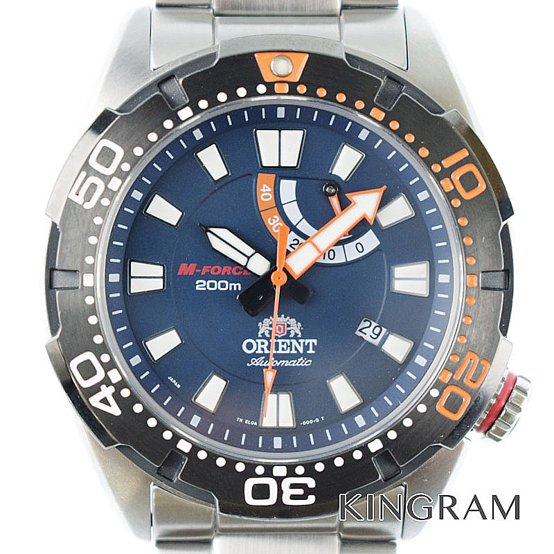 オリエント ORIENT Ref.SEL0A002D0 M-フォース オートマチック ダイバー 自動巻 メンズ 腕時計 ko 【中古】