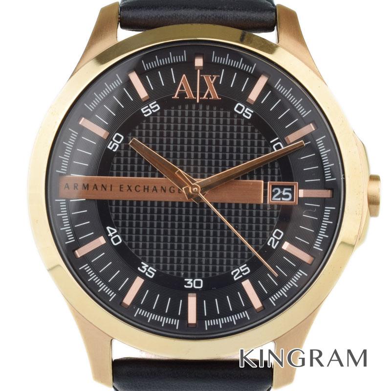 アルマーニ EMPORIO ARMANI Ref.AX2129 アルマーニエクスチェンジ クォーツ メンズ 腕時計 km【中古】