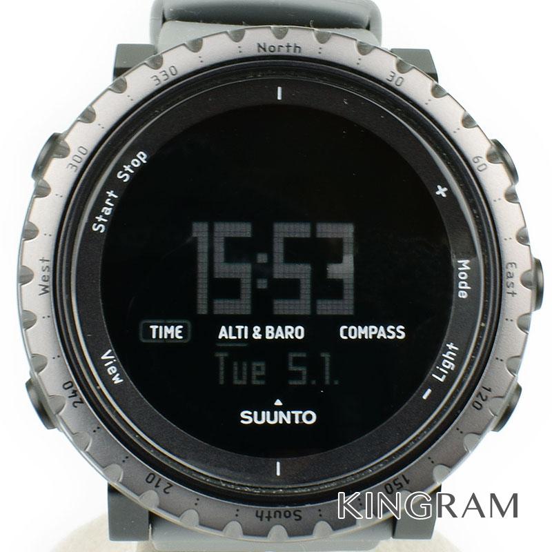 スント Suunto Ref.SS020344000 コア ダスクグレー クォーツ メンズ 腕時計 ko 【中古】