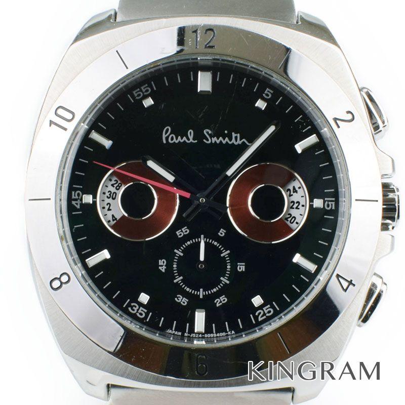 ポールスミス Paul Smith Ref.J524-S066662 ディアクアイズ クロノ クォーツ メンズ 腕時計 gi 【中古】