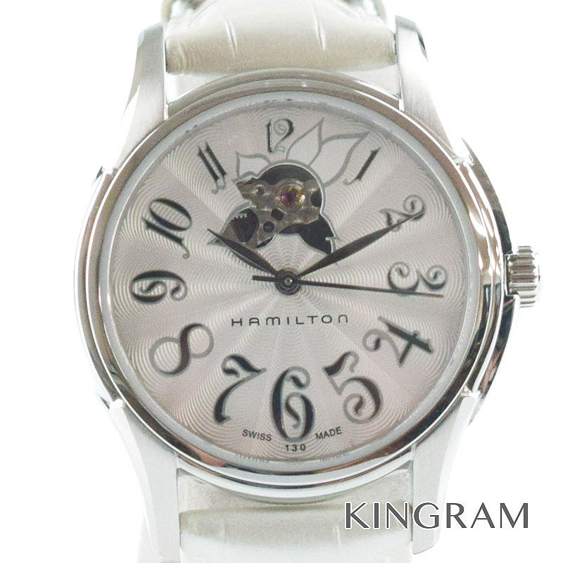 ハミルトン HAMILTON フラワージャズマスター Ref.H323650 自動巻 レディース 腕時計 gi 【中古】