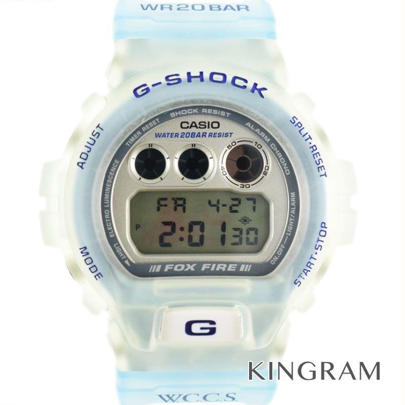 カシオ CASIO G-SHOCKジーショック Ref.W.C.C.S. DW-6900WC-2AT クォーツ メンズ 腕時計 gi 【中古】