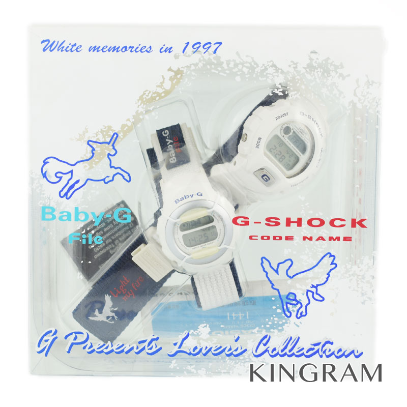 カシオ CASIO G-SHOCK Ref.LOV-97-3 ラバーズコレクション クォーツ ペアウォッチ gi【中古】