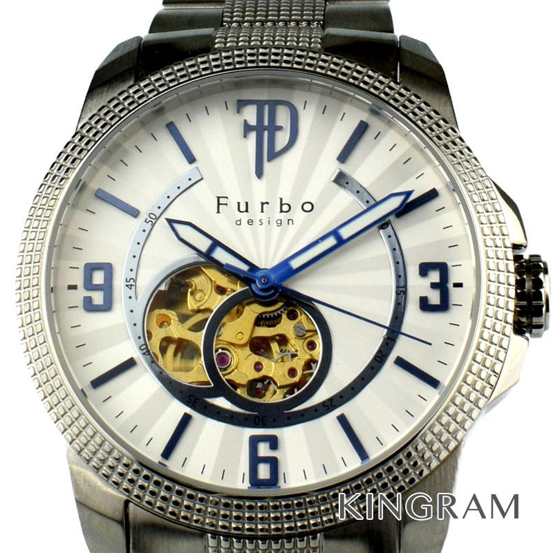 フルボ Furbo シースルーバックモデル Ref.F4004 自動巻 メンズ 腕時計 ny【中古】