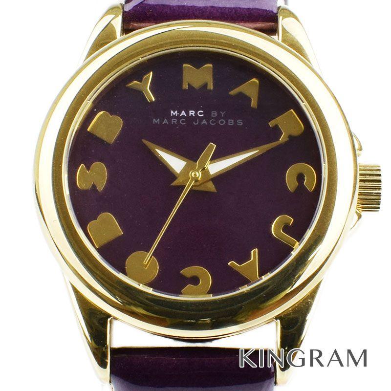 マークバイマークジェイコブス MARC BY MARC JACOBS Ref.MBM1194 バブル スモール クォーツ レディース 腕時計 iz 【中古】