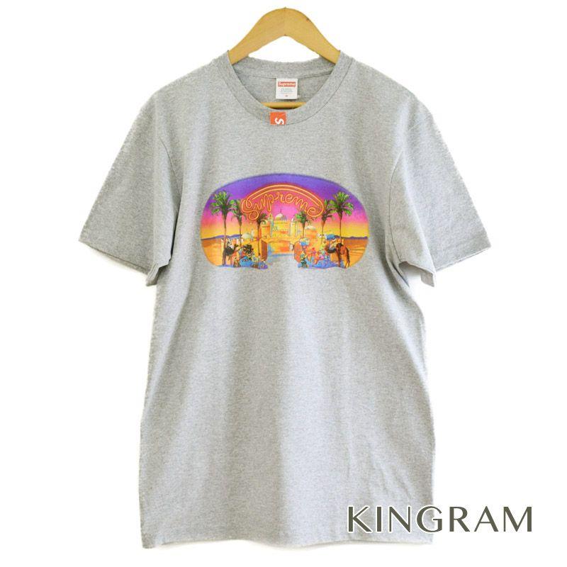 シュプリーム Supreme Tシャツ 17SS Mirage Tee サイズM 未使用 半タグ付 グレー コットン90% ポリエステル10% メンズトップス rtk【中古】