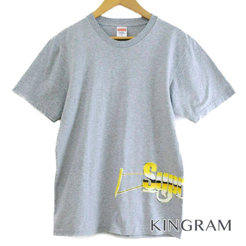 シュプリーム Supreme Tシャツ 17SS Automatic Tee サイズM グレー コットン90% ポリエステル10% メンズトップス rtk 【中古】