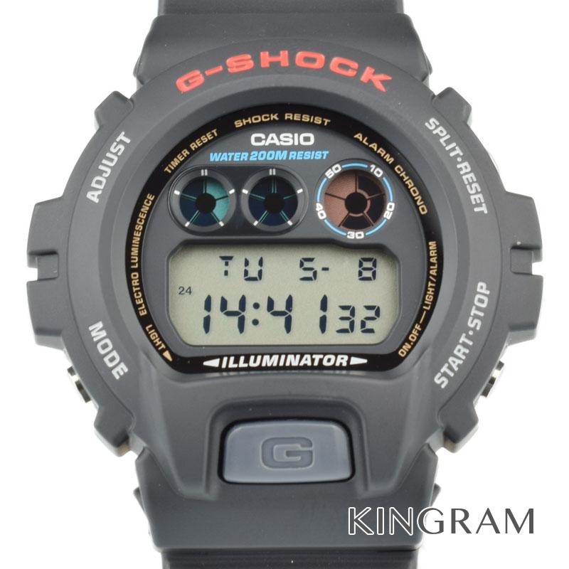 カシオ CASIO G-SHOCKジーショック Ref.DW-6900-1VCT 海外モデルトリグラフモデル クォーツ メンズ 腕時計 hi 【中古】