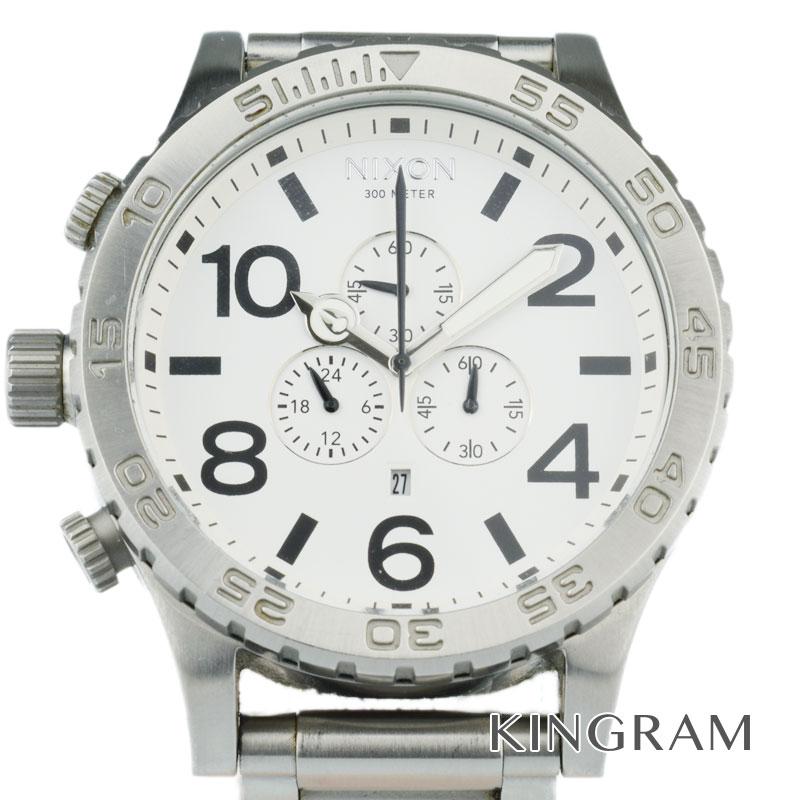 ニクソン NIXON フィフティワンサーティクロノ Ref.THE51-30 A083 クォーツ メンズ 腕時計 hi 【中古】