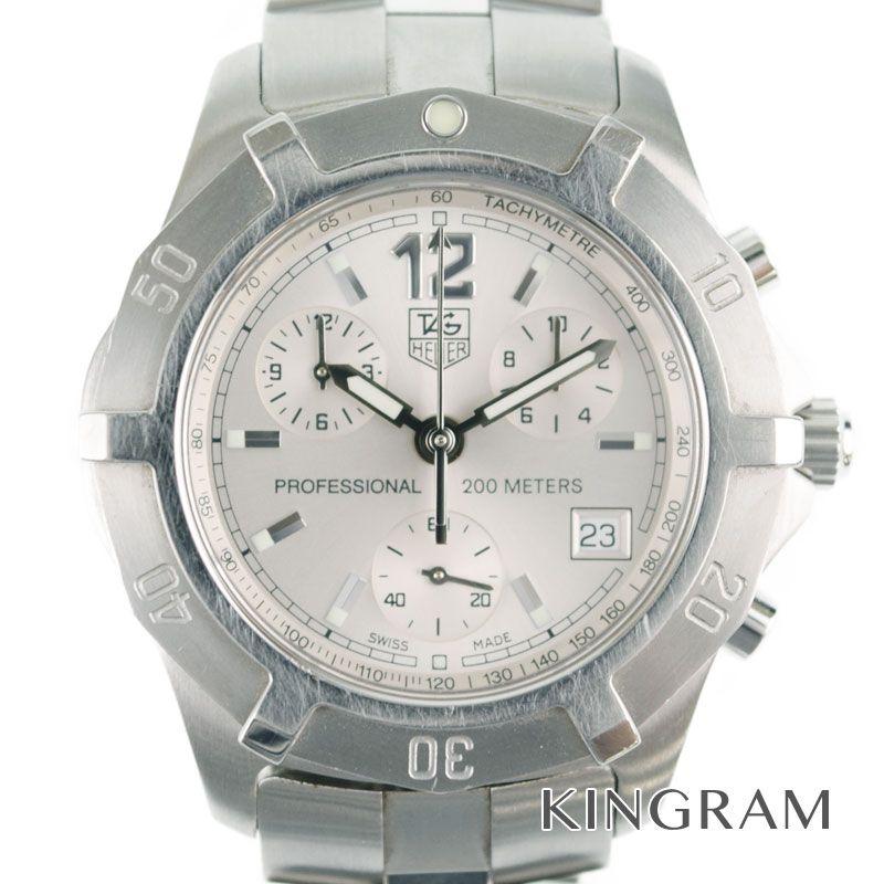 タグホイヤー TAG Heuer Ref.CN1111.BA0337 2000エクスクルーシブ クロノ クォーツ メンズ 腕時計 mi 【中古】