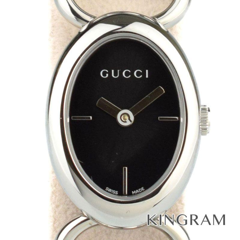 グッチ GUCCI Ref.YA118501 トルナヴォーニ オーバル クォーツ レディース 腕時計 hi【中古】