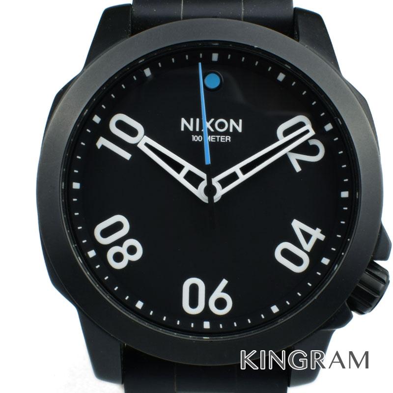 ニクソン NIXON Ref.A468-001 レンジャー40 クォーツ メンズ 腕時計 iz 【中古】