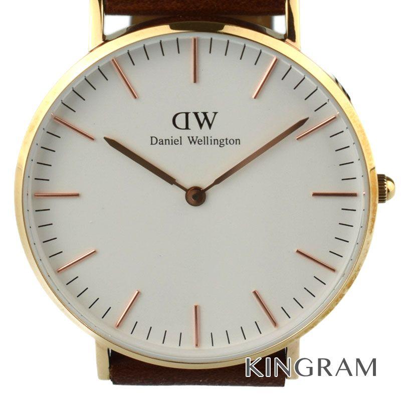 ダニエルウェリントン DanielWellington クラシックアウトレット ユニセックス Ref.DW00100035 クォーツ 男女兼用腕時計 ny【中古】