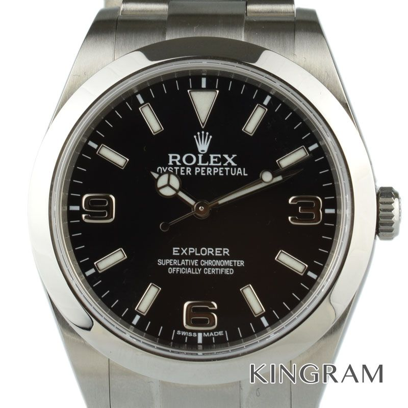 ロレックス ROLEX エクスプローラー Ref.214270 自動巻 G番 メンズ 腕時計 ya【中古】