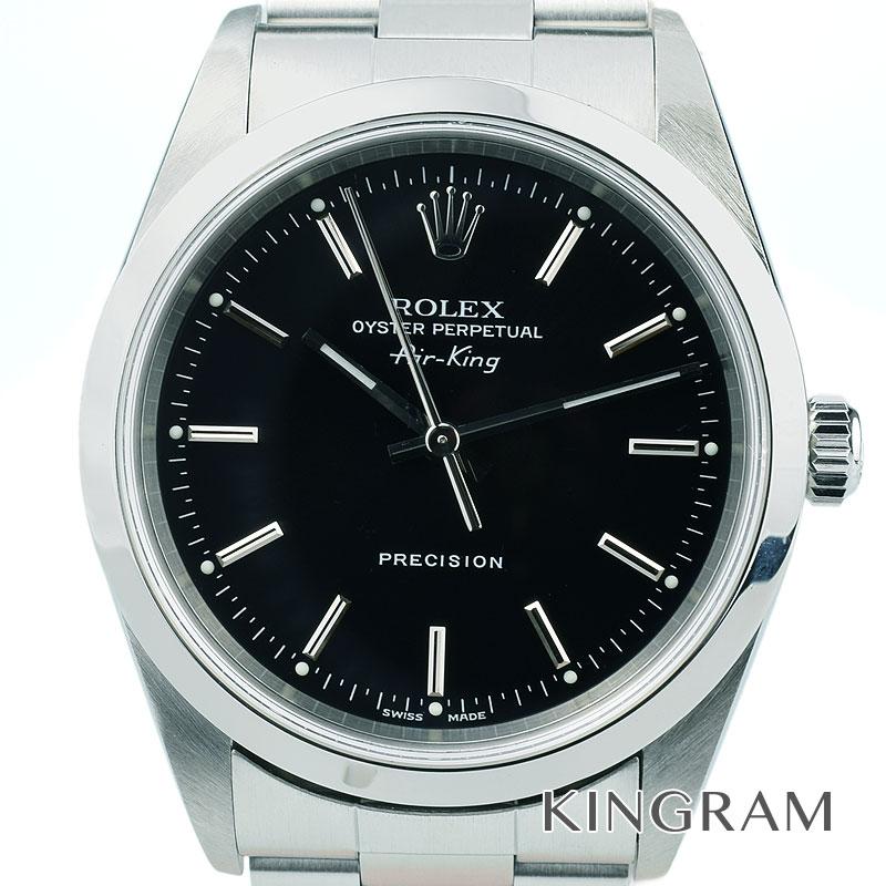 ロレックス ROLEX デイトジャスト エアキング Ref.14000 P番 自動巻 メンズ 腕時計 kw 【中古】
