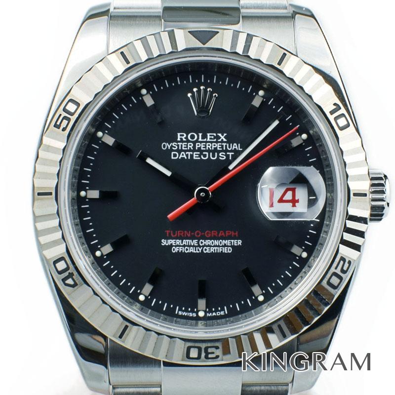 ロレックス ROLEX デイトジャストターノグラフ Ref.116264 D番 自動巻 メンズ 腕時計 te 【中古】