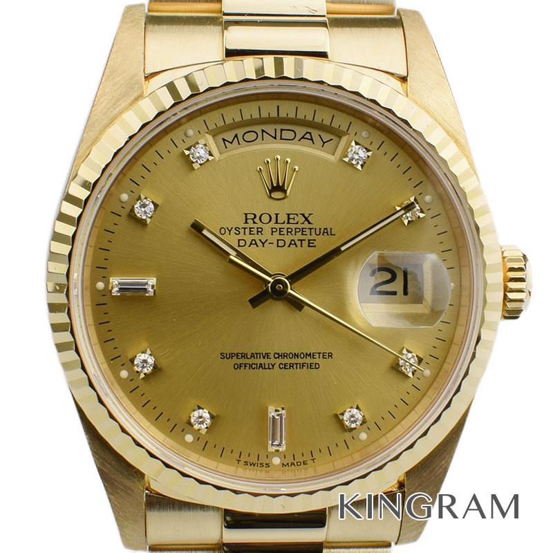 ロレックス ROLEX デイデイト Ref.18238 S番 外装仕上げ済自動巻 メンズ 腕時計 kw 【中古】