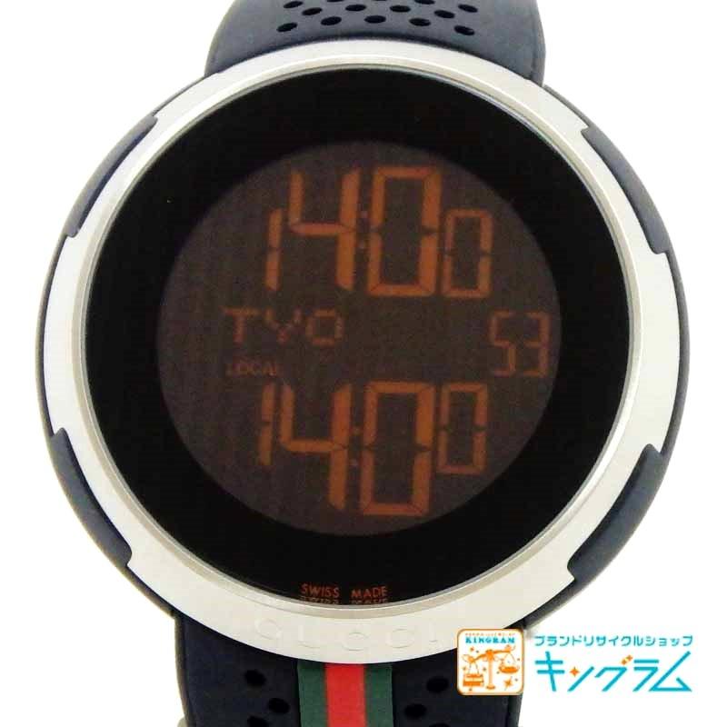 buy popular 04e53 d4374 グッチ GUCCI アイグッチ スポーツ YA114103 アウトレット クオーツ メンズ 腕時計 ec 【中古】|キングラム楽天市場店