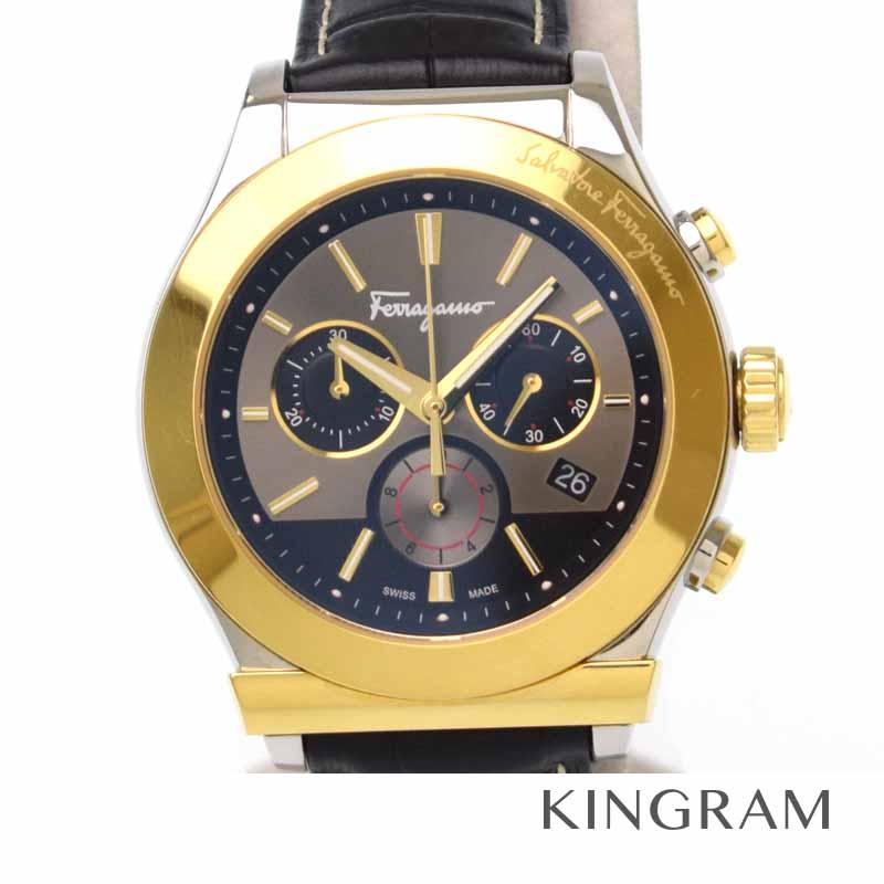 サルヴァトーレ フェラガモ Salvatore Ferragamo FFM120016 メンズ腕時計 1898 クロノグラフ im【中古】