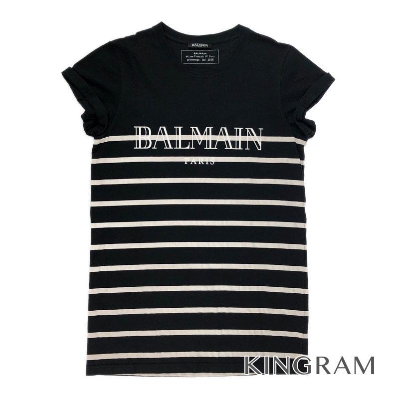 バルマン BALMAIN S8H8601 ブラック 表地:綿 コットン100% 裏地:綿 コットン100% メンズトップス rkd【中古】