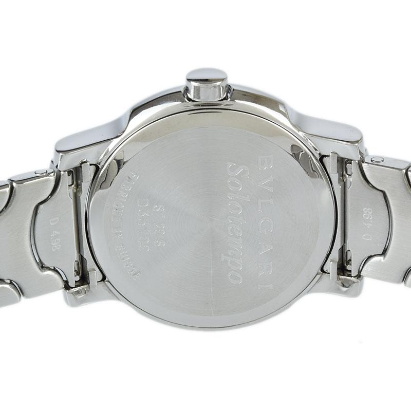 ブルガリ BVLGARI ソロテンポ ST29S 外装仕上げ済 クォーツ レディース 腕時計 sethrdQs