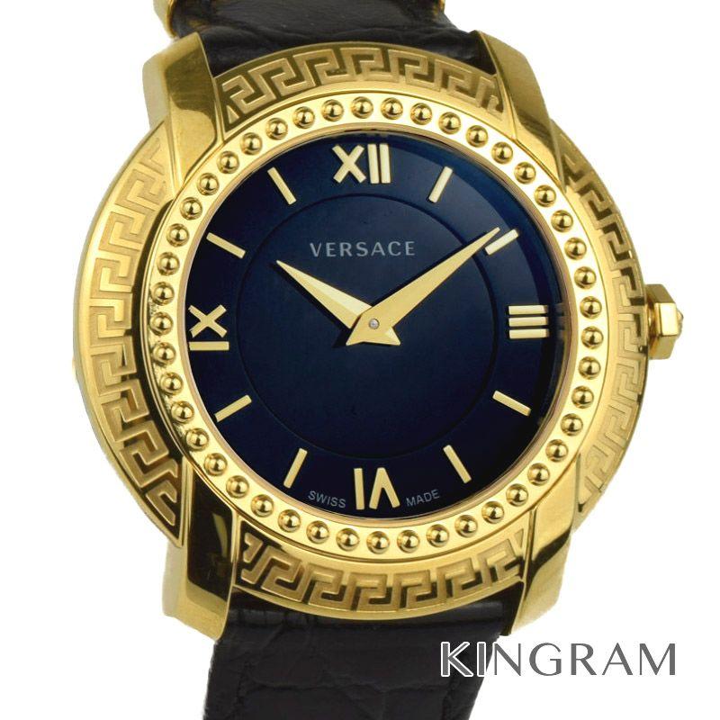 ヴェルサーチ VERSACE VAM03 0016 ラウンドレディ クォーツ レディース 腕時計 rkd【中古】