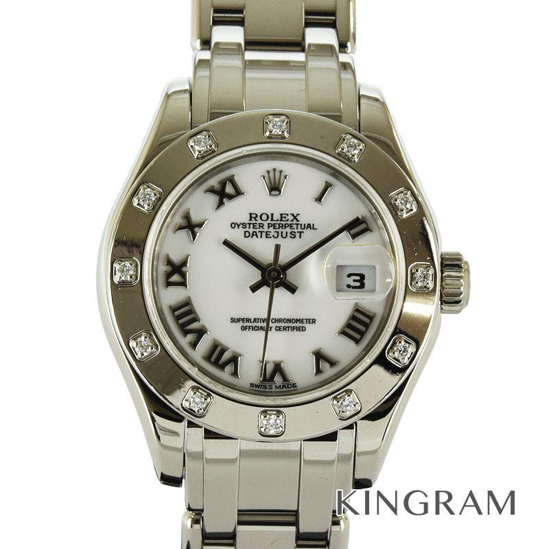 ロレックス ROLEX デイトジャスト パールマスター 80319 A番 OH済 外装仕上げ済 自動巻 レディース 腕時計 as【中古】