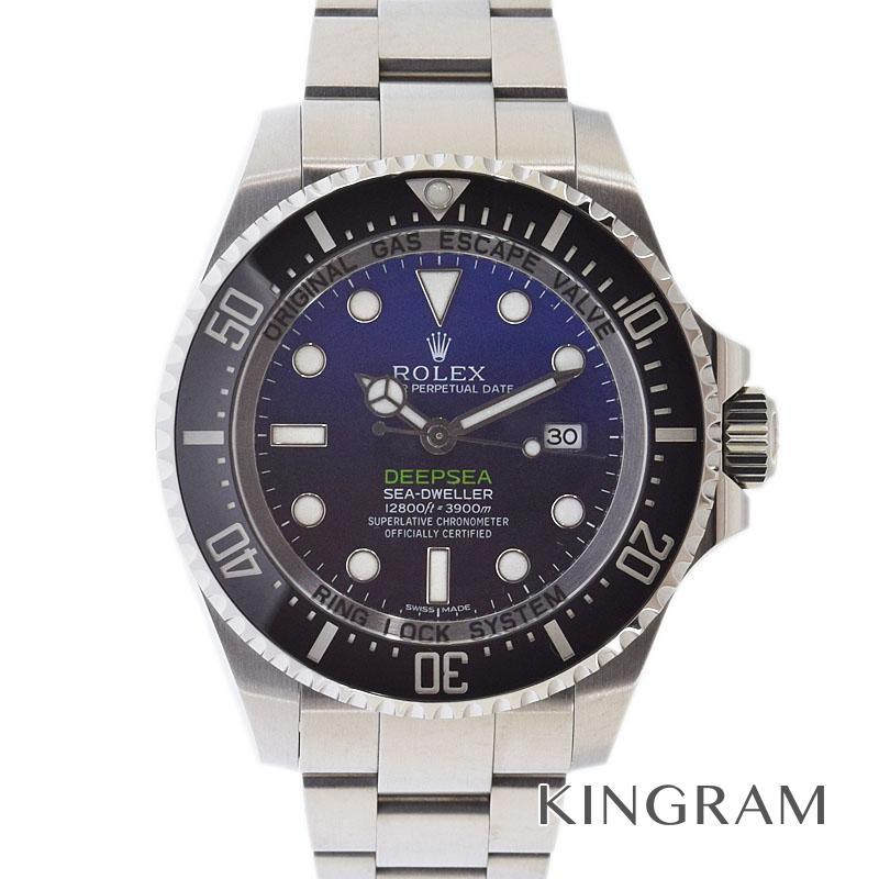 ロレックス ROLEX ディープシー 116660 ランダム番 外装仕上げ済 自動巻 メンズ 腕時計 te【中古】