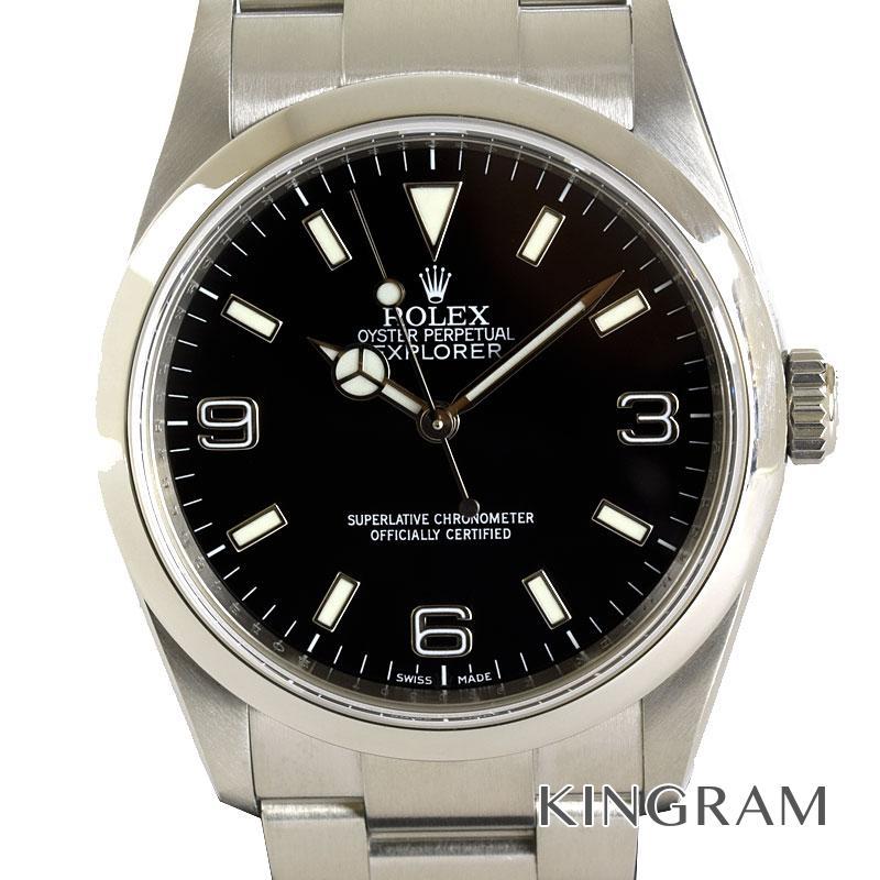 ロレックス ROLEX エクスプローラー1 114270 Z番 OH済 自動巻 メンズ 腕時計 rky【中古】