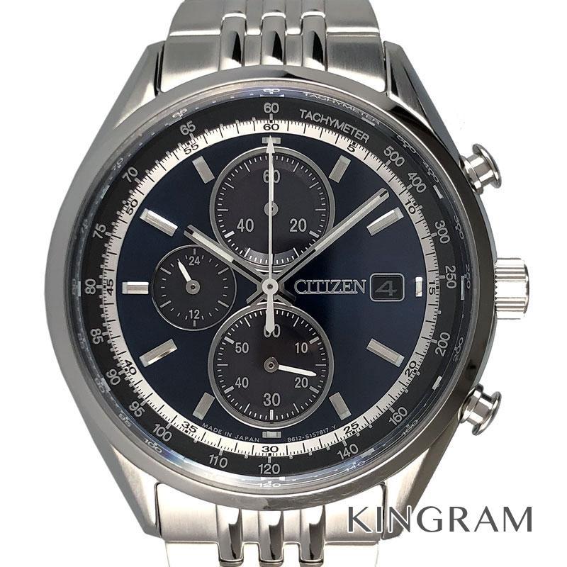 シチズン CITIZEN エコドライブ CA0450-57L シチズンコレクション クロノグラフ メンズ 腕時計 ec【中古】