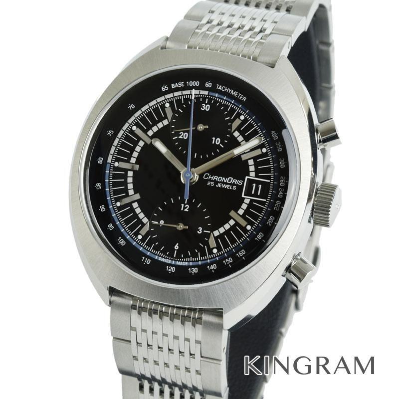 オリス ORIS ウィリアムズ リミテッドエディション 01 673 7739 4084-SET MB クロノリス誕生40周年記念 自動巻 メンズ 腕時計 te【中古】