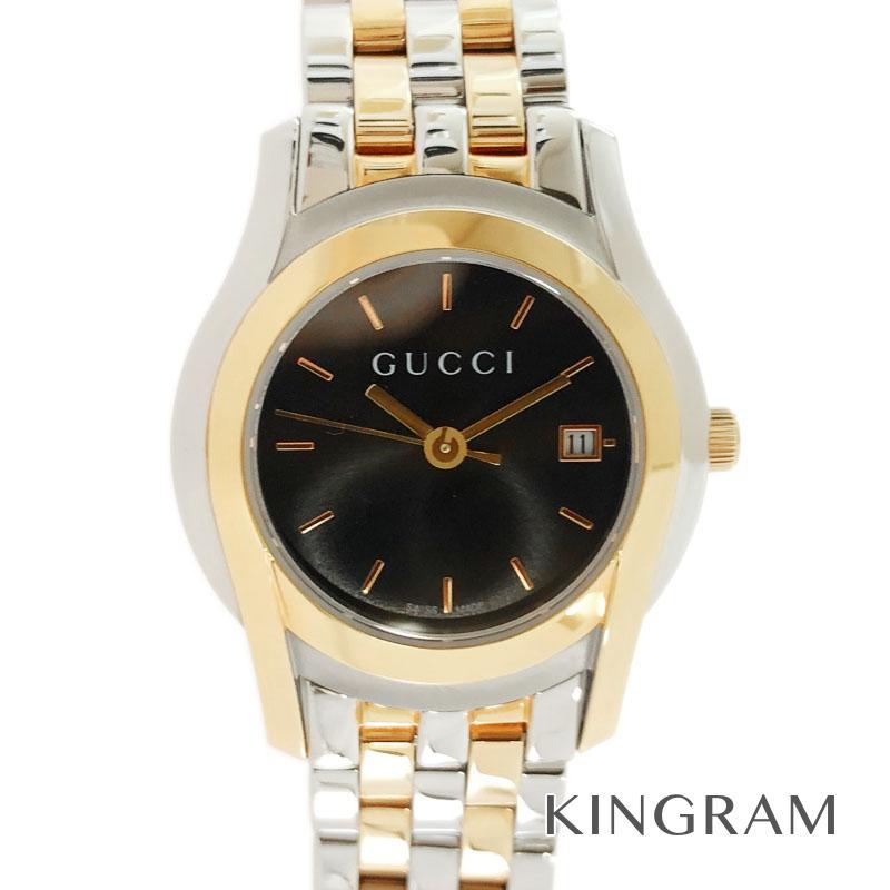 グッチ GUCCI Gクラス 5500L YA055537 アウトレット クォーツ レディース 腕時計 ec【中古】
