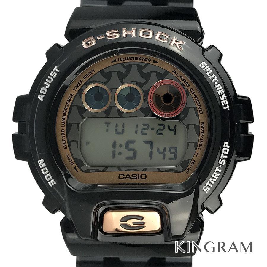 カシオ CASIO G-SHOCK DW-6900SLG-1JR 七福神 毘沙門天モデル ソーラークォーツ メンズ 腕時計 rhr【中古】