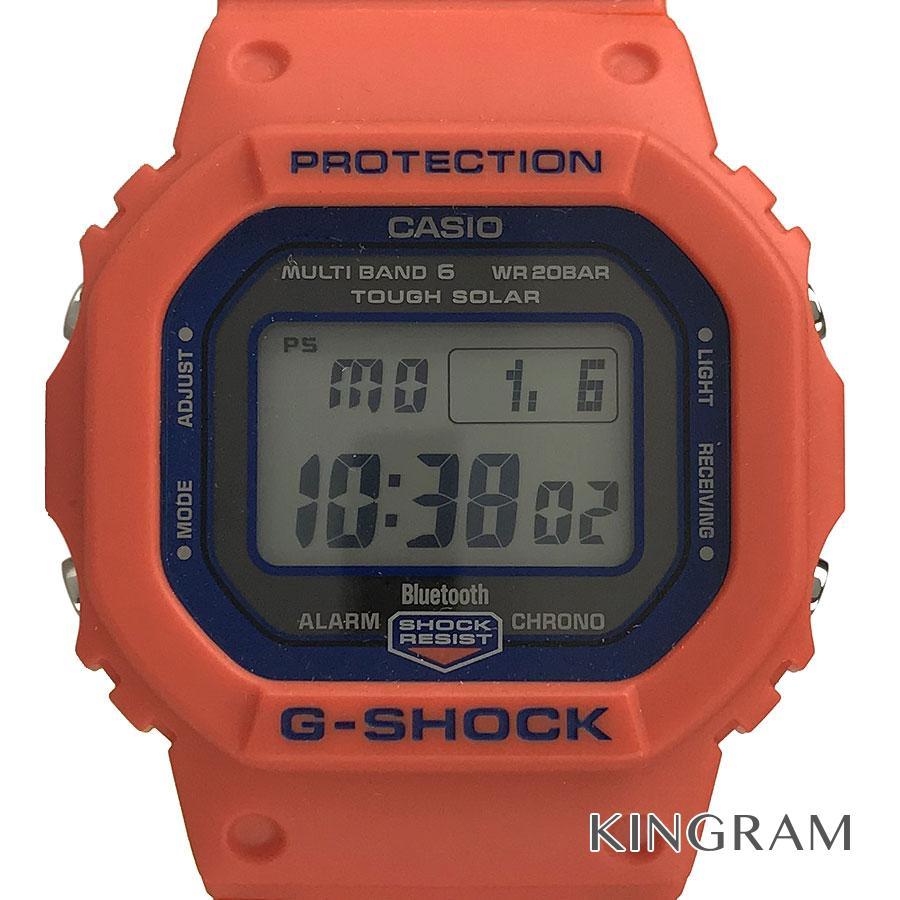 カシオ CASIO G-SHOCK GW-B5600FB-4JR 神戸市消防局 救助隊50周年 コラボレーションモデル ソーラークォーツ メンズ 腕時計 rhr【中古】