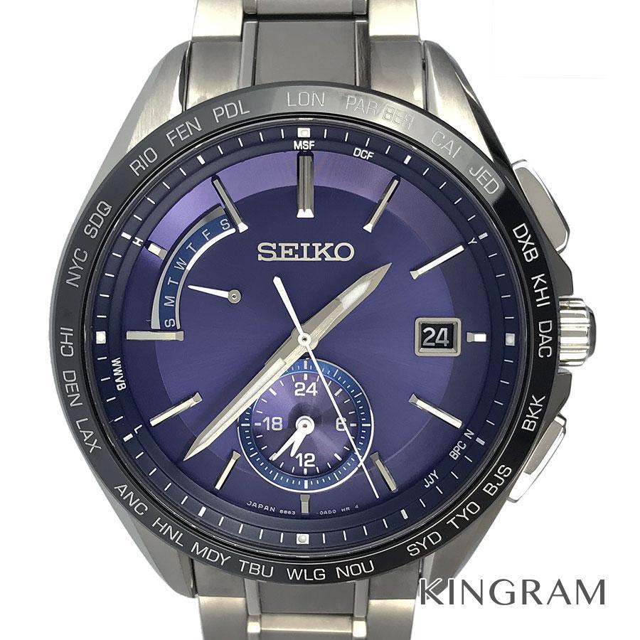 セイコー SEIKO SAGA231 ブライツ 8B63-0AB0 ソーラークォーツ メンズ 腕時計 rhr【中古】