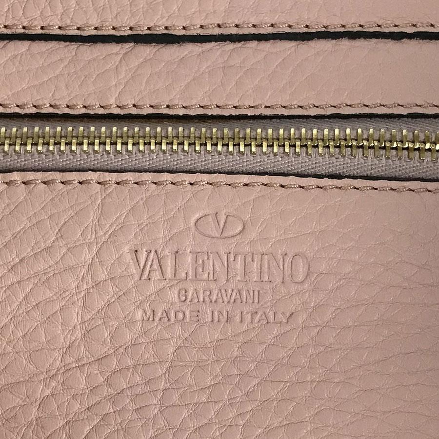 ヴァレンティノ VALENTINO ロックスタッズスモール 2WAY ショルダー ピンク系 レザー トートバッグ omRj35Lq4A
