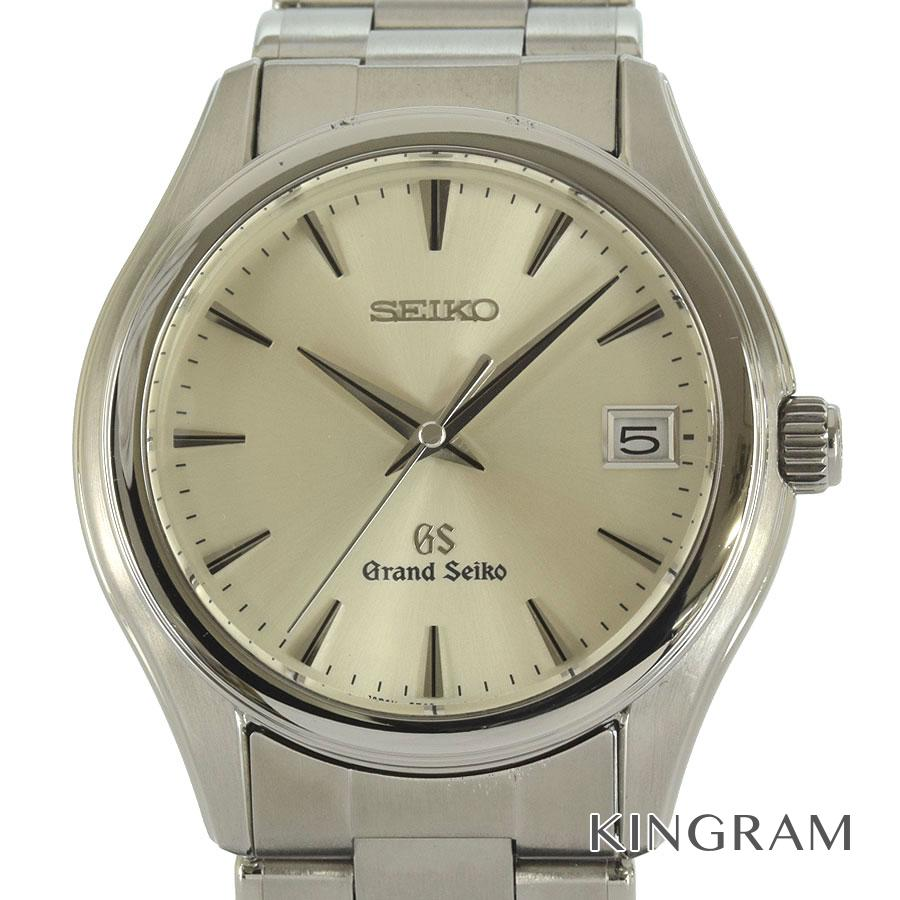 セイコー SEIKO グランドセイコー 9F62-0A10 SBGX005 デイト 電池交換済 外装仕上げ済 クォーツ メンズ 腕時計 ki【中古】